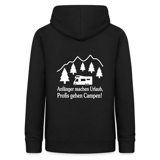 Camping Geschenk Campen Gehen Urlaub Spruch | Frauen Hoodie