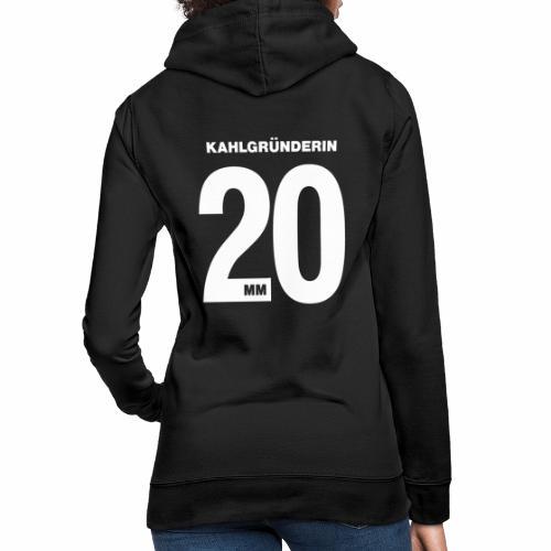 Kahlgruenderin 2020 - Frauen Hoodie
