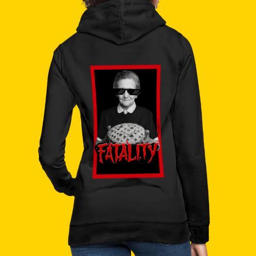 Fatality - Felpa con cappuccio da donna