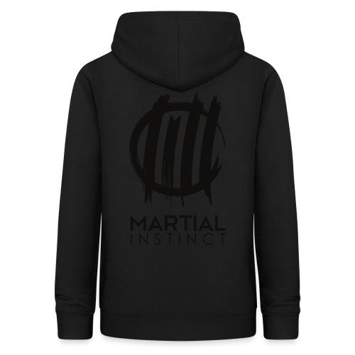 MARTIAL INSTINCT - Black Logo (Rücken) - Frauen Hoodie