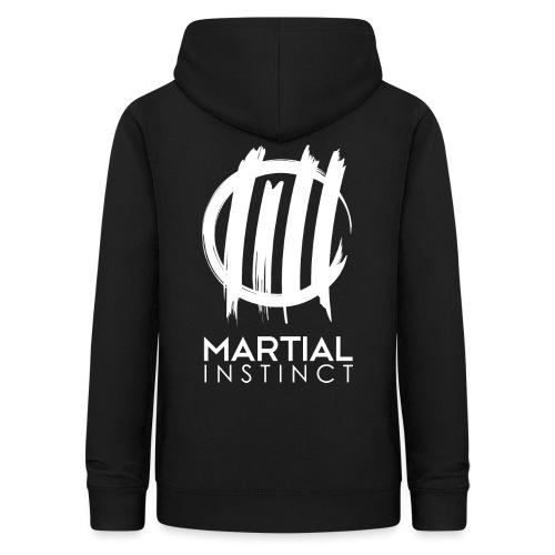 MARTIAL INSTINCT - White Logo (Rücken) - Frauen Hoodie