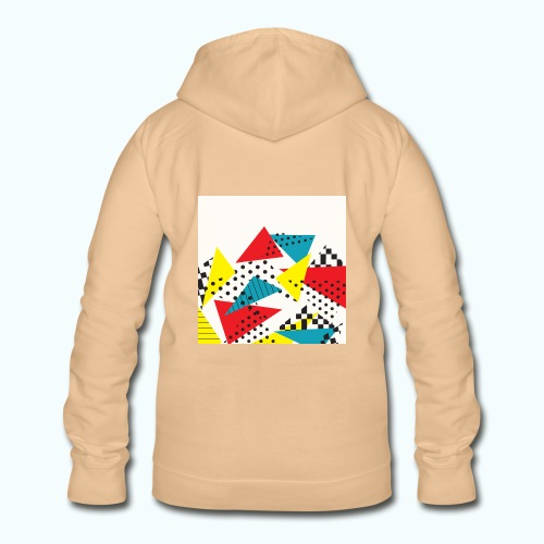 Abstract vintage collage - Women's Hoodie