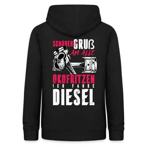 Schönen Gruß an die Ökos, ich fahre Diesel - Frauen Hoodie