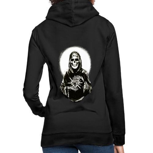 ✦ Halo negro de la Santa Muerte ✦ - Frauen Hoodie