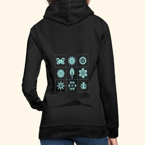 tateti fauna y flora - Sudadera con capucha para mujer