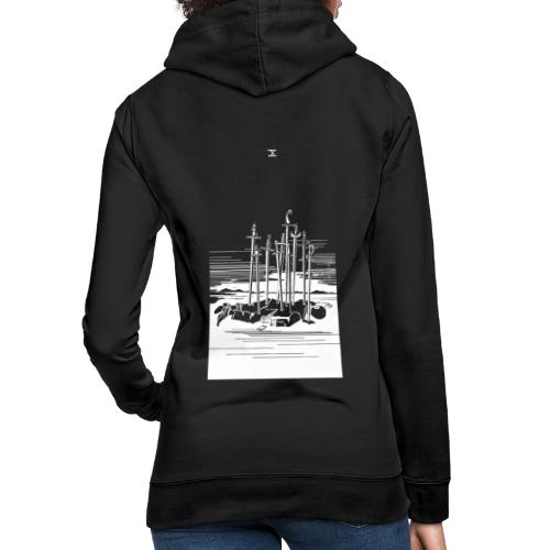 Revenge Capitalism (on black) - Women's Hoodie