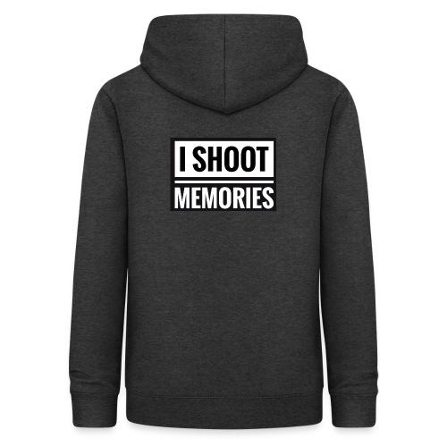 I SHOOT MEMORIES, BLACK EDITION - Dame hoodie