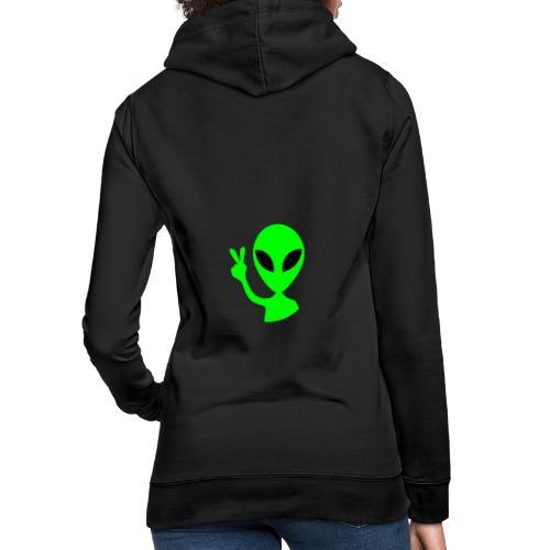 Peace out Alien - Women's Hoodie