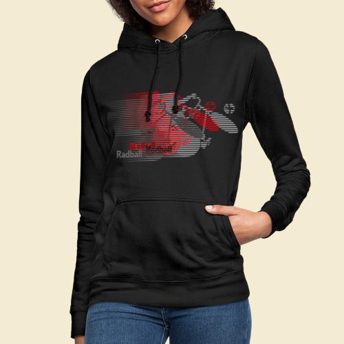 Radball | Earthquake Red - Frauen Hoodie