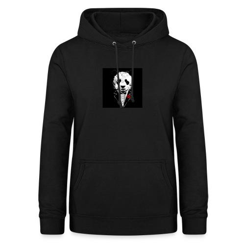 strak in panda pak - Vrouwen hoodie