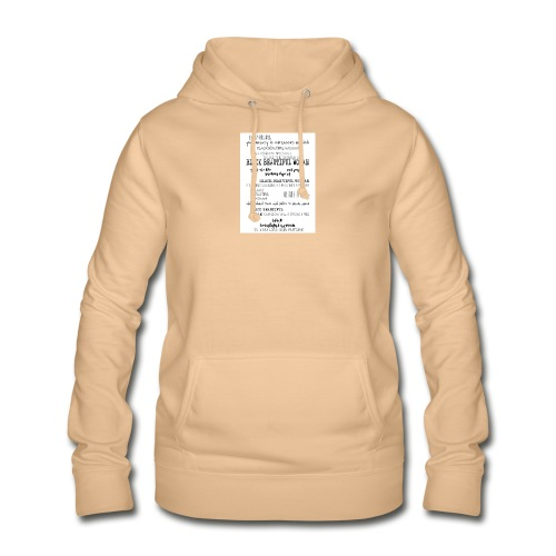 Beautiful Black Woman - Women's Hoodie