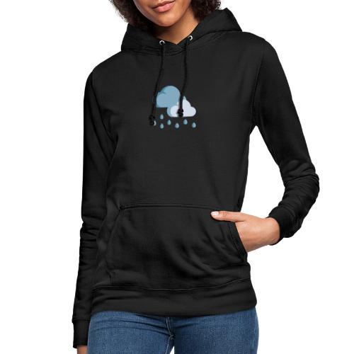 lluvia - Sudadera con capucha para mujer
