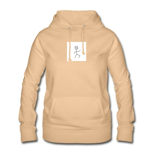 stick man t-shirt dance 1,0 - Dame hoodie