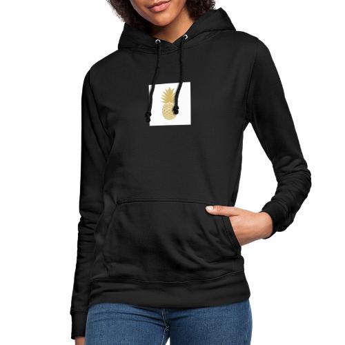 T-shirt avec ananas sur le côté - Sweat à capuche Femme