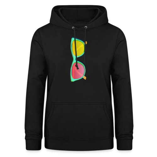 Vintage Retro Glasses Pop Art Style - Women's Hoodie