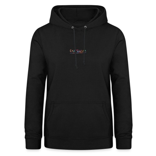 Expression typography - Women's Hoodie