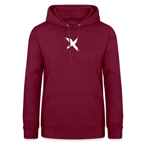 X-v02 - Sudadera con capucha para mujer