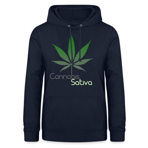 Cannabis Sativa CBD - Frauen Hoodie