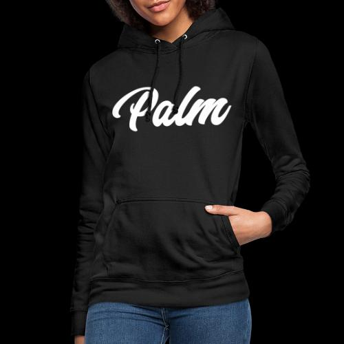 Palm Exclusive White - Dame hoodie
