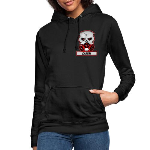 Casual-Gaming-Logo - Frauen Hoodie