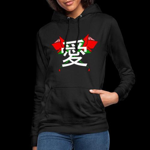 LAGOON XL - LOVE ROSES - Sweat à capuche Femme