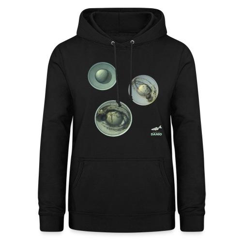 Camisetas Danio huevos de pez - Sudadera con capucha para mujer