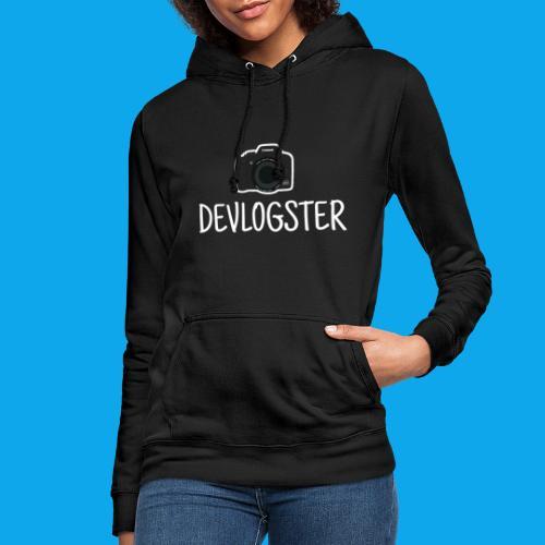 DeVlogster + camera logo - Vrouwen hoodie