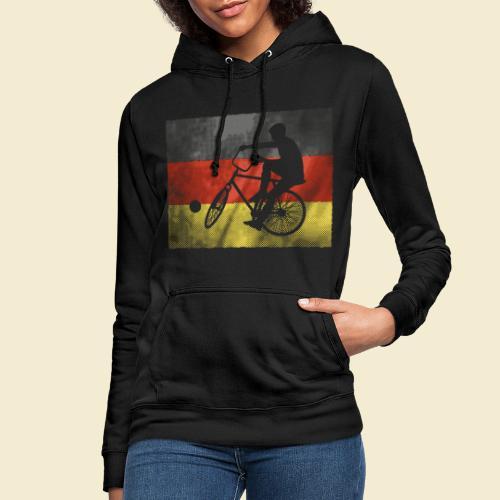 Radball | Flagge Deutschland - Frauen Hoodie