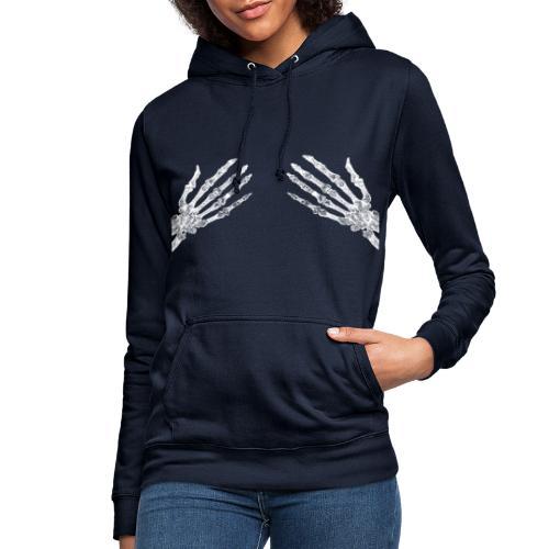 Trupie łapy klatka piersiowa - Dla Kobiet - Bluza damska z kapturem
