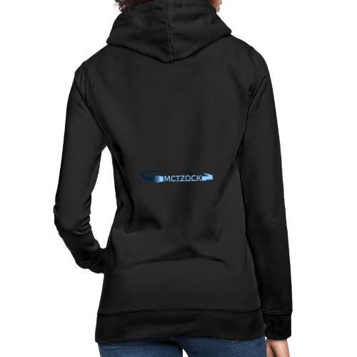 Logo schlicht beidseitig - Frauen Hoodie
