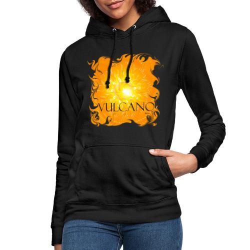 Vulcano djf - Sudadera con capucha para mujer