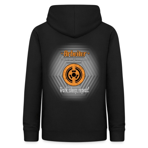 Arbeiter Work sleep repeat - Frauen Hoodie