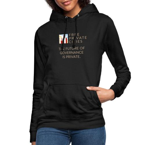 The future of Governance is private. - Women's Hoodie