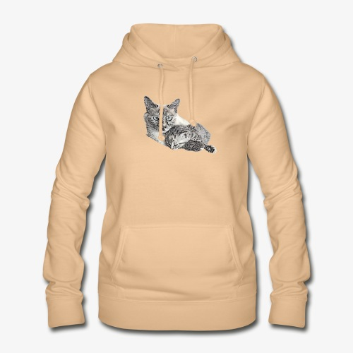 Snow and her baby - Women's Hoodie
