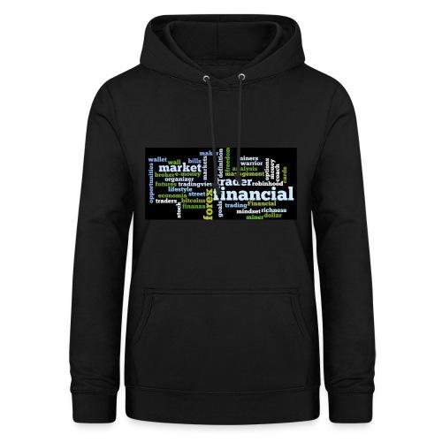 Designed T-Shirt for Traders Forex Stock Market - Felpa con cappuccio da donna