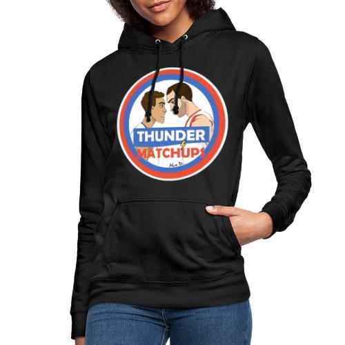 Thunder Matchups Logo - Felpa con cappuccio da donna