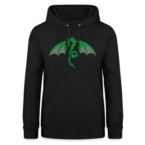 Red eyed green dragon - Vrouwen hoodie