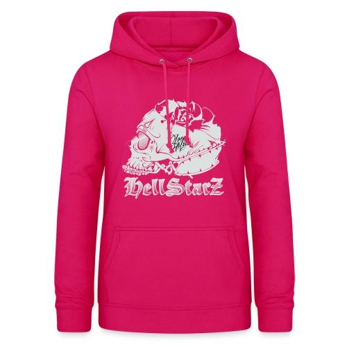 HELLSTARZ Skull Logo - Sweat à capuche Femme