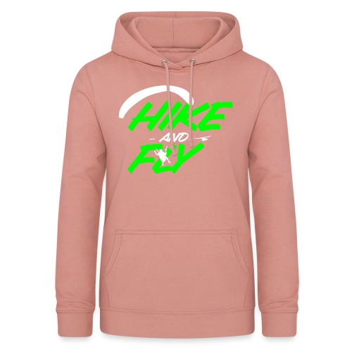 Hike and Fly Paragliding - Frauen Hoodie