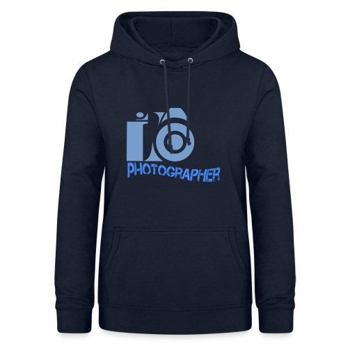 Photographer - Felpa con cappuccio da donna