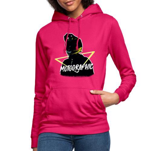 Vrouwen hoodie - mijn hoofdje door een driehoekje