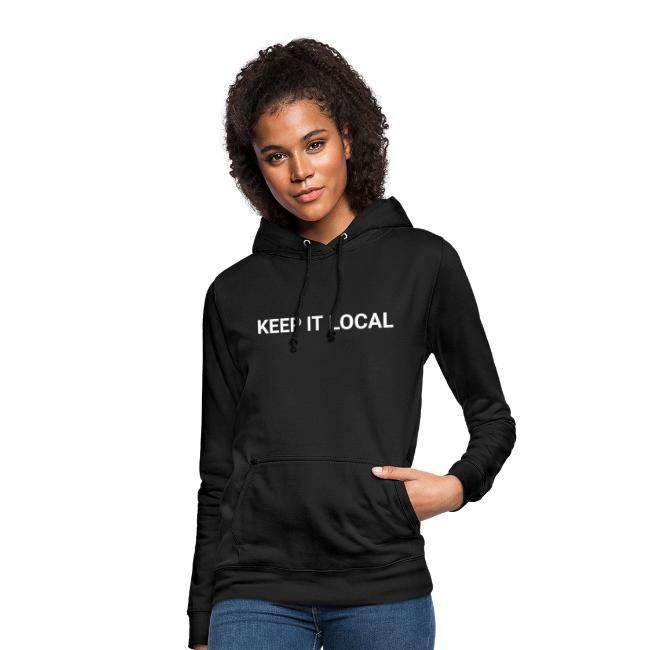 KEEP IT LOCAL - COPY WHITE
