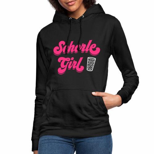 Schorle Girl und Dubbeglas - Frauen Hoodie