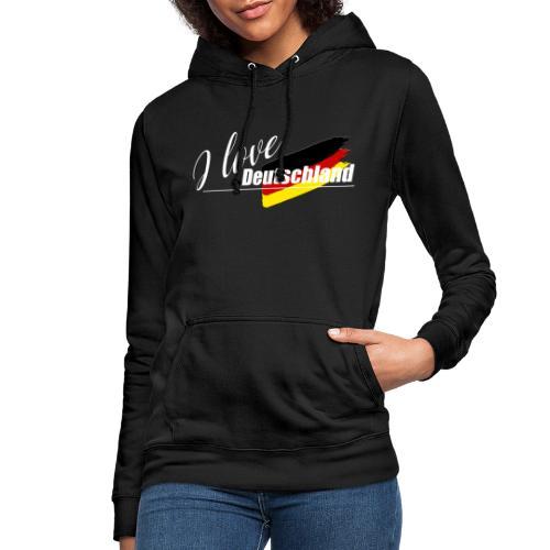 I love Deutschland - Frauen Hoodie