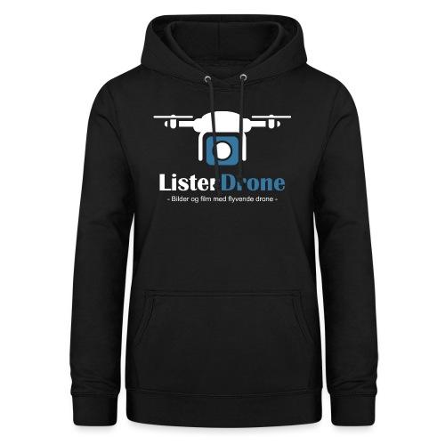 ListerDrone logo - Hettegenser for kvinner