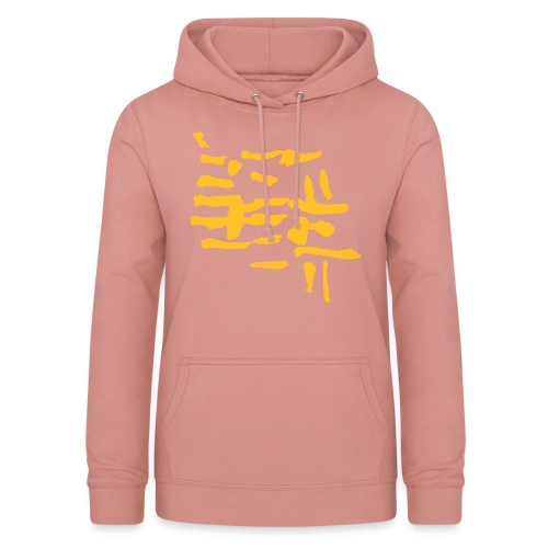 Structure / VINTAGE abstract - Women's Hoodie