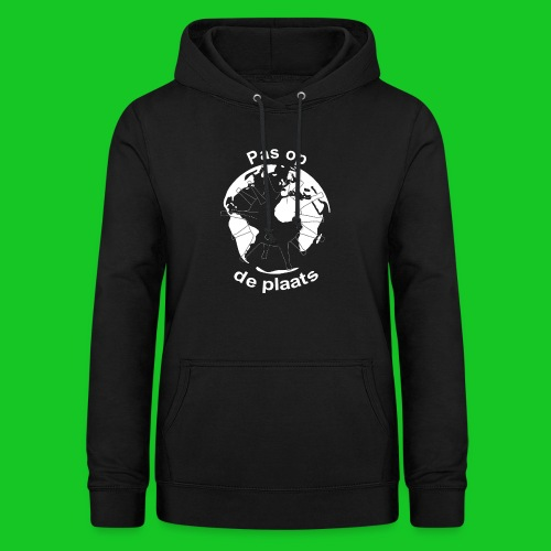 Pas op de plaats - Vrouwen hoodie