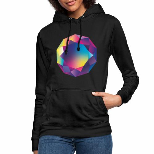 Diamond geometric illustration - Women's Hoodie