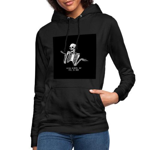 Tumblr skeleton - Frauen Hoodie