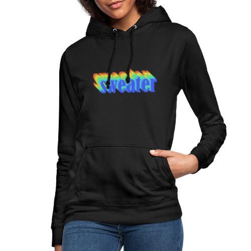 Retro simple sweater - Sweat à capuche Femme